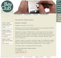 Bay Club Flexcushion Stretch