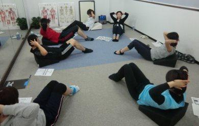 20120225Pilates with Flexcushion at Pilates Studio nano 2